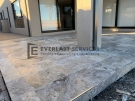 L248 – Porch Travertine Paving