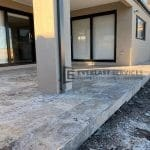Porch Travertine Paving