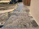 L249 – Travertine Pavers Front Porch