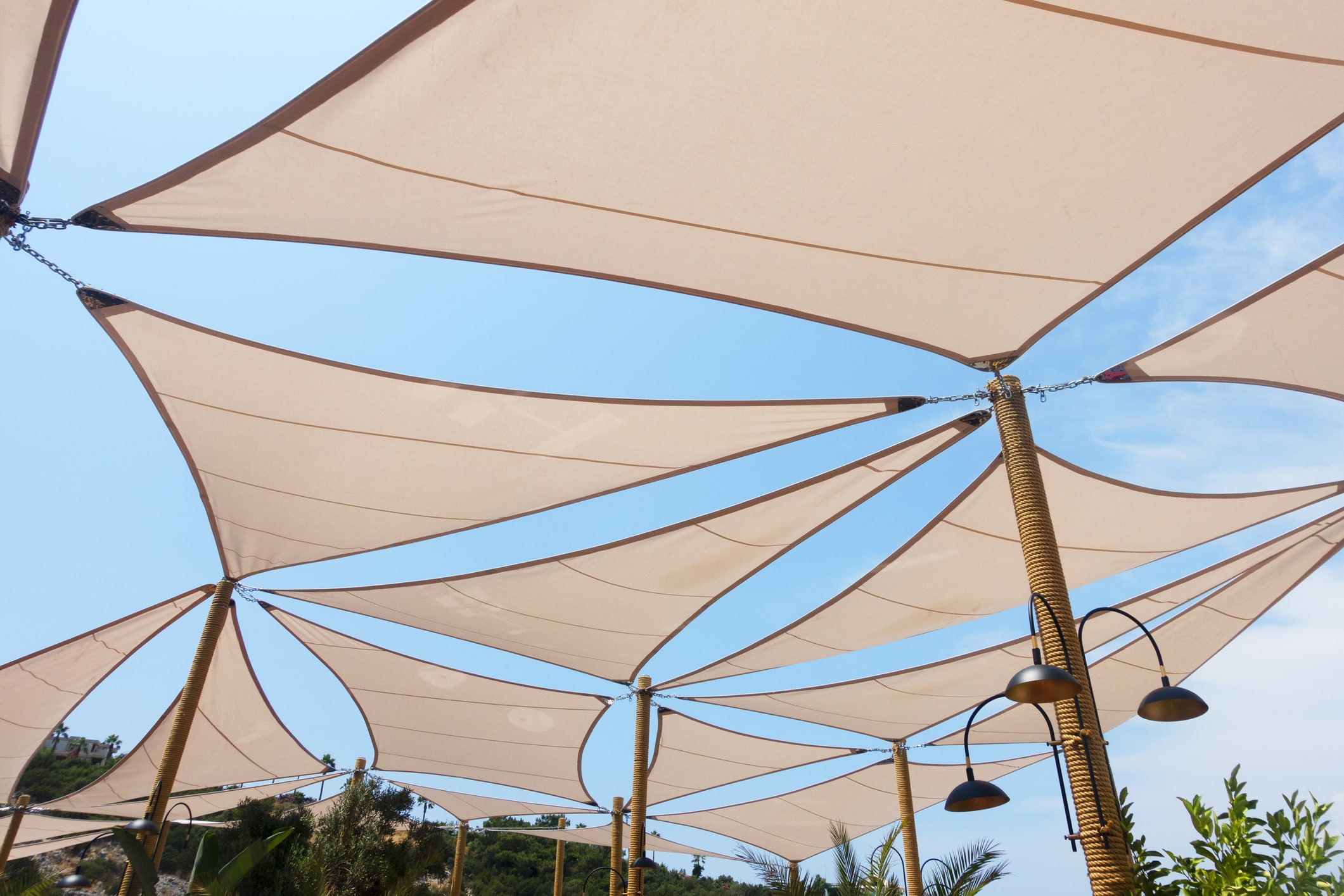 shade sail cost installation waterproof