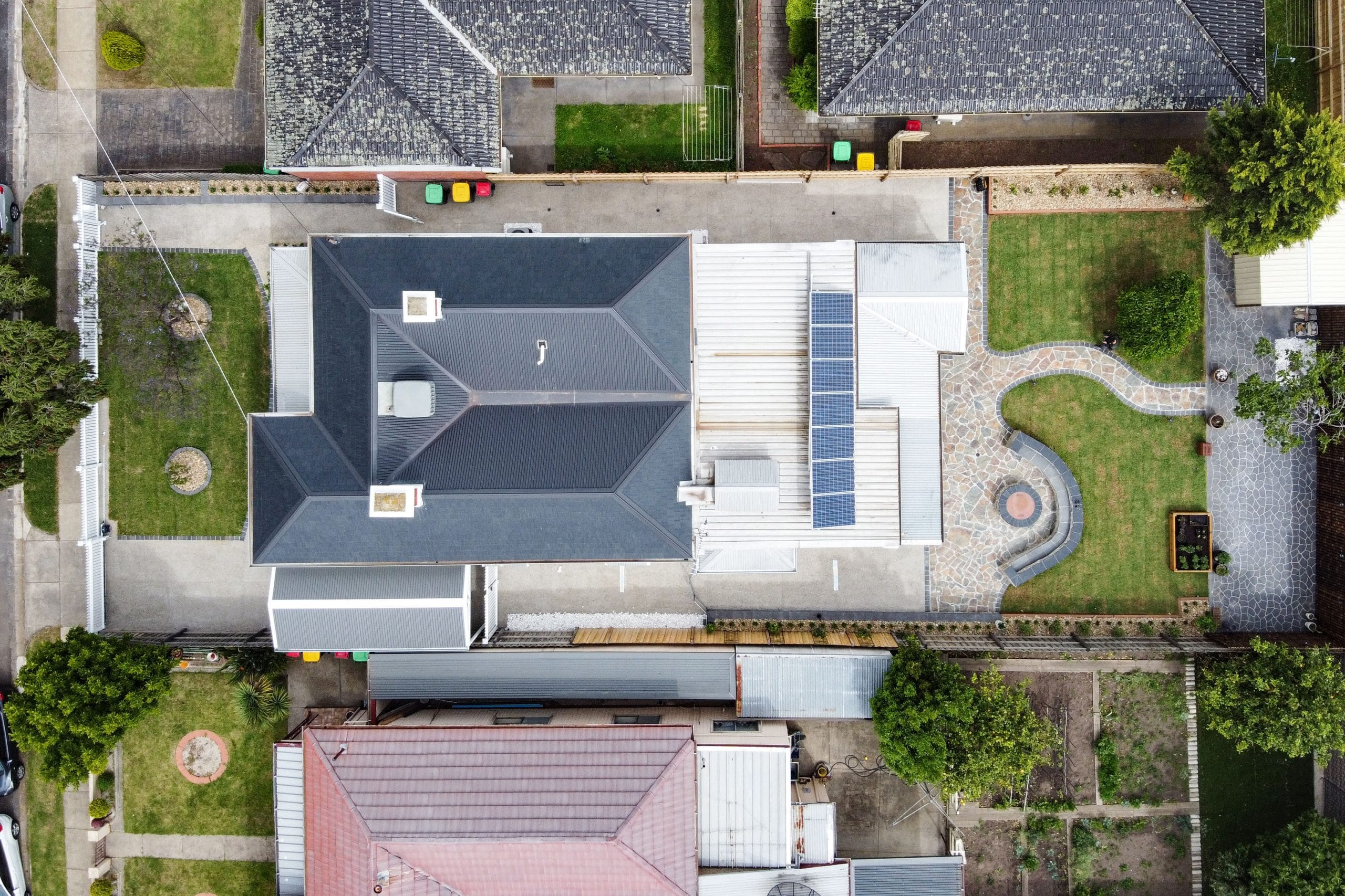 L273 - Ascot Vale - an overhead shot of a house
