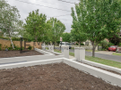 L263 – Essendon – Front yard looking at the fence – under construction