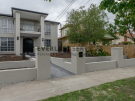 MW96 – Essendon – Looking towards the front door, fence under construction
