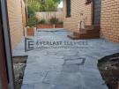 L278 – Everlast Landscaping stenciled concrete back door