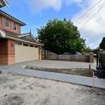 EA104 - Yarraville - Front Yard Concreting
