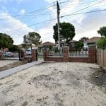 SF190 - Yarraville - Front Yard Steel Fencing