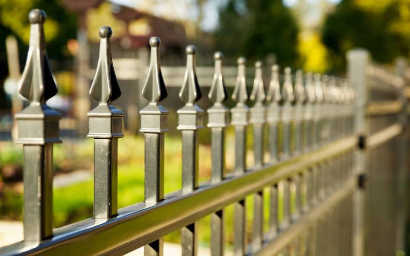Pointed Metal Fence