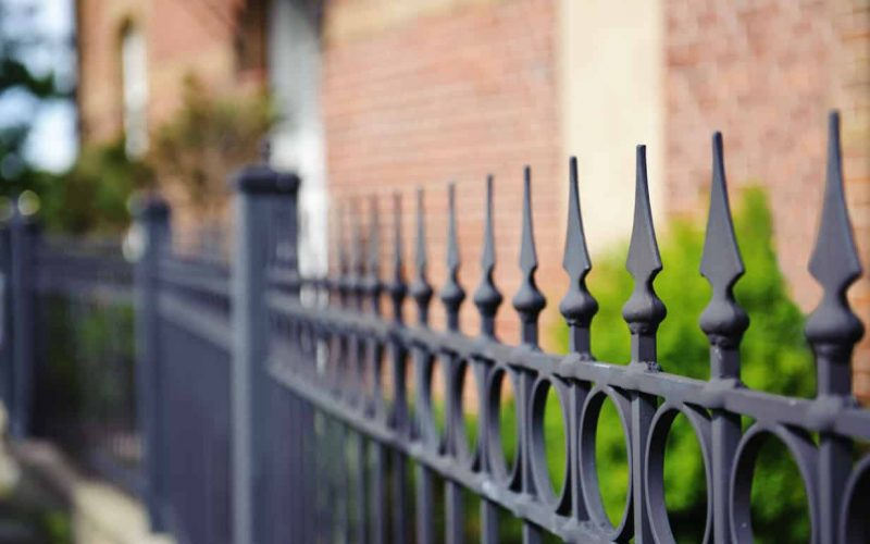 Spear top fencing