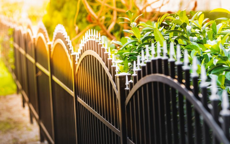 the ultimate guide to wrought iron fencing